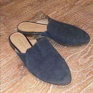 Kenneth Cole Rubie mules blue 7.5 flats
